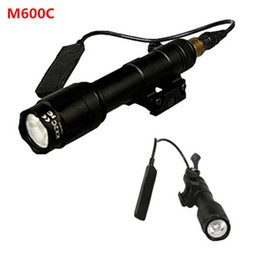 Wholesale SF M600c Scout Flashlight Tactical Torch Airsoft Light Black