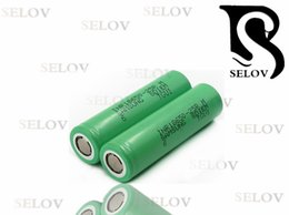 Genuine Samsung rechargeable battery inr18650- 25R M 2500mah 20A room, high 18650 lithium battery, vape flat top