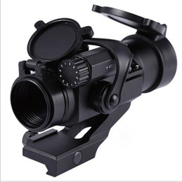 Wholesale Hot Sale Hunting Riflescopes mm M2 Sighting Telescope Laser Gun Sight with Reflex Red Green Dot Scope for Picatinny Rail