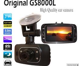 Descuento cámaras de guión recuadro negro Novatek original GS8000L Full HD 1080P 2.7