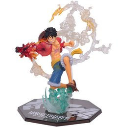 Wholesale Anime quot One Piece Monkey D Luffy Battle Ver Figuarts Zero Boxed PVC Action Figure Collection Model Toy Gift