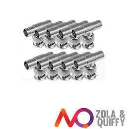 10 X BNC Male To Double BNC T Female Adapter Connector