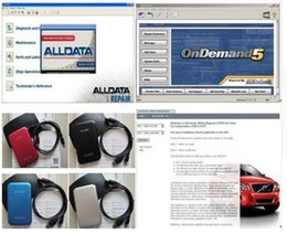 Wholesale 2016 New Arrival Alldata Auto Repair Software Alldata Mitchell on demand in1tb hdd fit win7 for all Cars Trucks