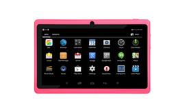Compra Online 3g usb libre-PC Ulta-fina de la tableta del Quad-corazón 8G Allwinner A33 7Inch PC libre de la tableta del androide 4.4 de la pantalla del Multi-tacto de la dual-cámara del envío