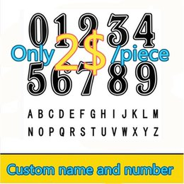 Wholesale Best Quality Custom name and number