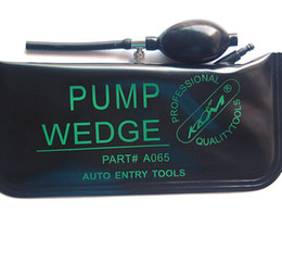 Wholesale Hot Sale Affordable Rates KLOM Brand Pump Air Wedge Airbay For Auto Big Size Black Color