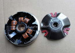 Wholesale KOSO high performance racing mm variator set with gram rollers for stroke cc scooter JOG PE40QMB E40QMB PVS