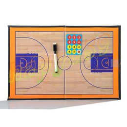 Outdoor PVC Foldable Soccer basketball Coach Match Training Tactical Plate Coaching Board Kits magnetic teaching board Coach Board equipment