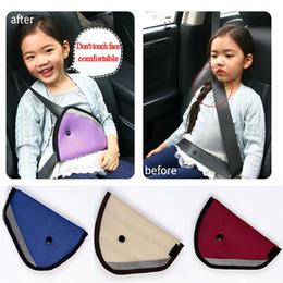 Wholesale Car Safe Fit Seat Belt Adjuster car safety belt adjust device baby child protector positioner Breathable