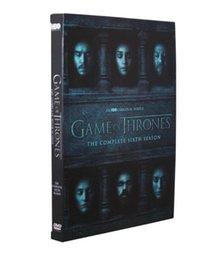 Wholesale Game of Thrones The Complete Sixth Season Six Disc Set US Version DVD Boxset