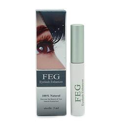 Wholesale FEG eyelash enhancer for women beauty longer lash serum GMP SGS Validation FEG eyelashes growth eyebrow growth