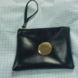 Wholesale Classic Fashion MIMCO zipper Medium Pouch black Rose Red Large MIMCO Patent Leather Wallet Handbag For Women Clutch Bags MIMCO Purse