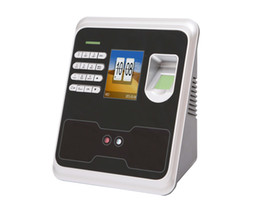 Wholesale 2 TFT Biometric Fingerprint Face Password Time Attendance Recorder USB Time Recoding Clock Employee Sensor Machine Reader