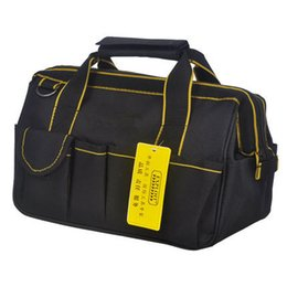 Wholesale High quality Multi function Waterproof Oxford Fabric Maintenance Toolkits Thicker Electrical Package Tool Bag x17x20cm