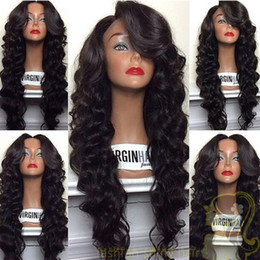 Deep Wavy Glueless Lace Front Wig & Full Lace Wig Free Parting Human Hair Lace Wigs With Baby Hair Malaysian Deep Wave