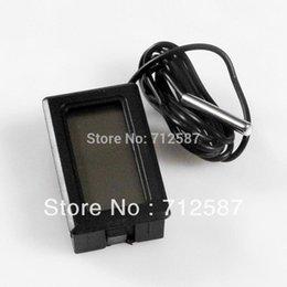Измеритель температуры панели для продажи-доставка LCD измеритель температуры цифровой термометр панели