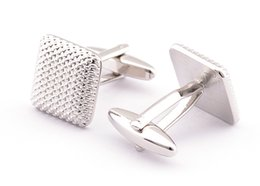 Wholesale Classic Laser Pattern Mens Cuff Links High quality Copper Material Geometry Cufflinks Pair Generation Delivery