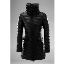 Fashion Long Jacket Women Winter Coat Stand Collar Coats Puffer White Duck Down Zipper Outdoor Outerwear