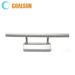 40CM 5W Stainless Steel Energy-Save LED Wall Bathroom Mirror Light Front Lamp