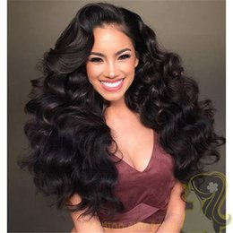 Silk Top Glueless Full Lace Wigs Loose Wave Brazilian Full Lace Human Hair Silk Base Wig With Baby Hair