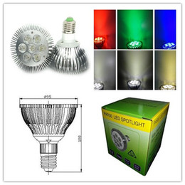 Dimmable LED Bulb Par30 LED Spot 5W 7W 15W 21W E27 LED Spotlight IP65 LED Par Light 100-240V White Warm White LED downlight lamp Lighting