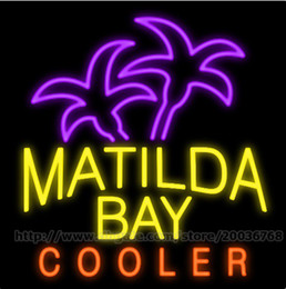 """Matilda Bay Cooler Neon Sign Custom Real Glass Tuble Store Shop Company Automobile Parts Repair Advertising Display Neon Signs 24""""x24"""""""