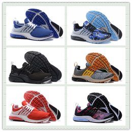 Wholesale Hot Sale Air Presto QS OG Retro Lighting Sports Shoes Comft Red ISLAND BLUE Air Presto Running Shoes Men Women Sneakers With Box US5