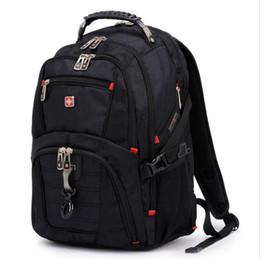 Wholesale 2015 New travel shoulder backpack men s bag swissgear army knife backpacks swiss gear nylon waterproof backpacks freeshipping
