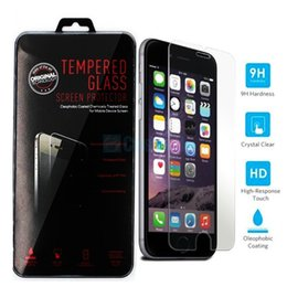 For Iphone 6s 6s plus Screen Protector Film Tempered Glass S6 Samsung S7 J7 2016 iphone 5 Samsung S5 Note 5 Stylo 2 retailbox 0.2MM 2.5D DHL