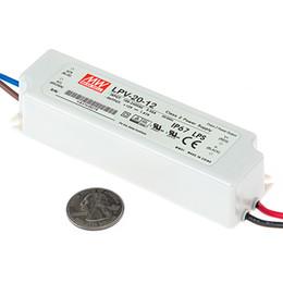 100% Original New 20watt led driver power supply Meanwell LPV-20-24 ip67 waterproof power supply unit 24V for led light