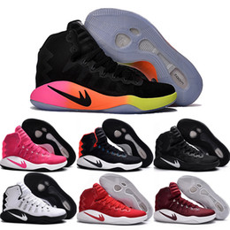 Drop Shipping Wholesale Basketball Shoes Men Hyperdunk 2016 Sneakers New High Quality Cheap High Cut Outdoor Sports Shoes Size 7-12