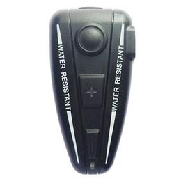 Wholesale-2016 Newest Helmet Intercom Motorcycle Headset D2 Intercom Automatic Bluetooth Handfree Intercomunicador with FM function A Pair