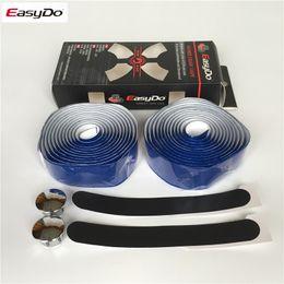 Wholesale Easydo Road Handlebar Bicycle Grips Wrap Fixie Pu Leather Strap Belt Bike Parts Cycling Handle Manopole Mtb Manillar Limited Hot