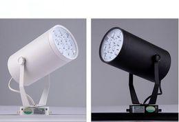 Wholesale LED light W W W W W W W track Back Recess lighting V V aluminum white black shell rail light High Quality