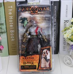 2017 l'action de guerre Dieu de la figure Guerre NECA God of War Kratos Golden Fleece Armure avec Medusa Head PVC Action Figure Collection Model Toy 18cm budget l'action de guerre