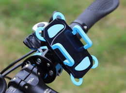 Wholesale phone Motorcycle Bicycle Mountain bike mount Holder Stand for iPhone s plus S galaxy note J1 GPS Baby carriage holder HDSZ003