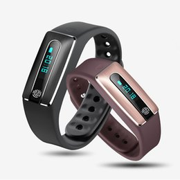 Wholesale HOLDREAMS HS02 Smart Wristband Bluetooth USB Plug Heart Rate Monitor NFC Sleep Tracker Remote Camera for iPhone IOS Android phone