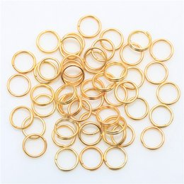 Wholesale Factory Price Metal Fishing Split Rings Findings Key Rings mm for DIY Jewelry Making