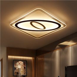 2016 new Super-thin Ceiling lights indoor lighting led luminaria abajur modern led ceiling lights for living room lamps fixture for home