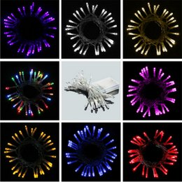 Wholesale Hot Sale LED Battery Light String Meters Beads Shop Windows Festive Lights Wedding Explosion Models of Foreign Trade