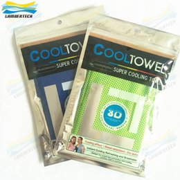 Wholesale 2016 Cool Towel D Super Cooling Towels Cooling Effect Sweet Absorbent Dry Quickly Instant Cooling Refreshing And Breathable Summer Towel