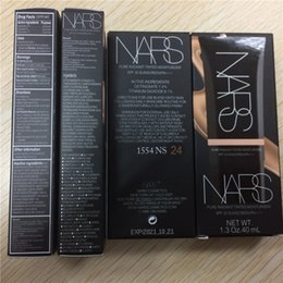 Wholesale Hot Face Makeup NARS Liquid Foundation ml Sun Block SPF30 Pure Radiant Tinted Moisturizer Concealer by DHL Free