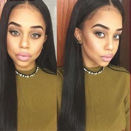 2016 new!!!Beautitful long silk straight africa american indian hair glueless full lace wigs & lace front wigs
