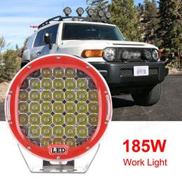 """4wd nouvelle voiture en Ligne-2016 nouvelle arrivée! 9 """"185W 13300LM ronde CREE LED Light Work spot Driving Lamp Car Offroad Truck 4WD CLT_40S"""