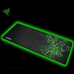 Wholesale Mouse Pad Wrist Rests for Razer Mouse Pad Speed Version Gaming Mouse Pad Locked Bag Packing