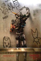 "Free shipping 22"" X 35"" inch Hot Sale Chappie2 Movie The human body art silk Poster Custom ART PRINT"