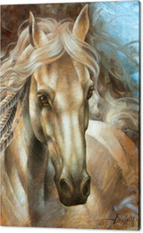 horse-head High Definition Artwork Unframed Wall Art on Sale Animal Oil Painting on Canvas Design High Quality