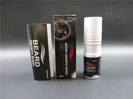Wholesale Beard growth spray ml beard grow stimulator natural accelerate beard growth oil facial hair grower