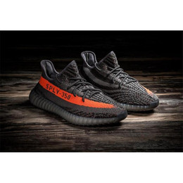 Wholesale 2016 Season Men Women New Grey Orange Stripe Black White Striping SPLY Boost Brand Athletic Running Sneaker Shoes With Box