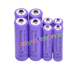 Wholesale battery operated digital picture frame AA AAA V mAh mAh NiMH Purple Rechargeable Battery Cell